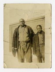 Big Jim (James D. Richardson), Camp Free Soil, 1936