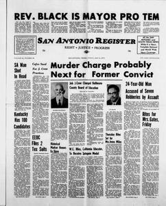 San Antonio Register (San Antonio, Tex.), Vol. 42, No. 46, Ed. 1 Friday, May 4, 1973 San Antonio Register