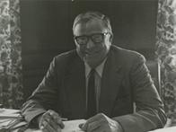 President Strider at his desk