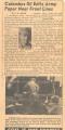 Columbus GI Edits Paper Near Front Lines, 1950