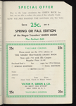 The Negro Travelers' Green Book: Fall 1956