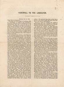 Farewell to The Liberator