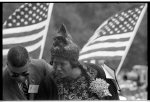 [Mahalia Jackson and unidentified man at the March on Washington for Jobs and Freedom]