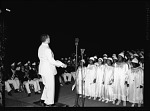 [Baptism ceremony, probably at Griffith Stadium, ca. 1930-1950 : cellulose acetate photonegative]