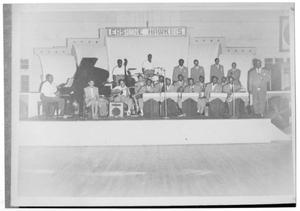 [Photograph of Erskine Hawkins and Orchestra]