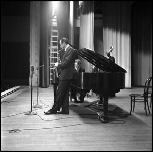 [Dave Brubeck Quartets performing at North Texas State University]