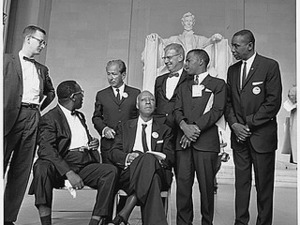 Civil Rights March on Washington, D.C. [Leaders of the march], 08/28/1963
