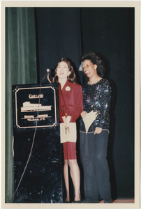 Photograph of Two Speakers