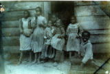 African American woman and children
