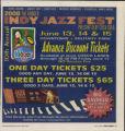 Indy Jazz Fest 2008 advertisement