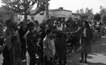Yvonne Burke Shaking Hands, Los Angeles