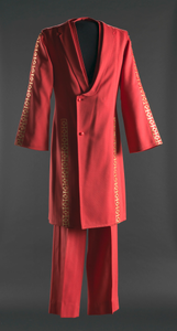 Red suit owned by James Brown