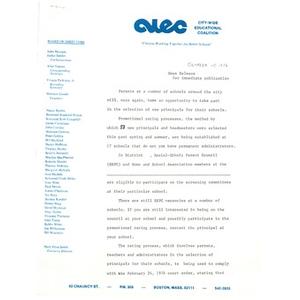 Press release, October 15, 1976.