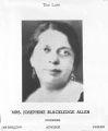 Black Education- Allen, Josephine
