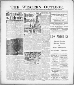 The Western Outlook. (San Francisco, Oakland and Los Angeles, Calif.), Vol. 22, No. 10, Ed. 1 Saturday, November 27, 1915 The Western Outlook