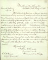 Governor Watson C. Squire general order to disorderly persons in Seattle to cease actions which disturb the peace during the anti-Chinese agitation, February 11, 1886