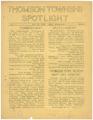 Thomson Township Spotlight, Volume 2, Number 16, Thomson High School, Esko, Minnesota