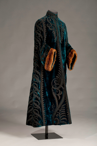 Evening coat made by Louvenia Price