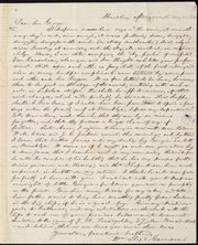 Letter to] Dear bro. George [manuscript