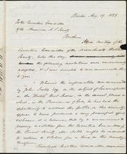 Letter to] Brethren [manuscript