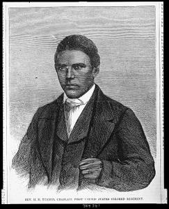 Rev. H. M. Turner, chaplain First United States Colored Regiment