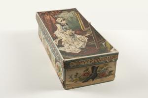 Box for women's shoes, Levy & Katzman, New York, New York, undated