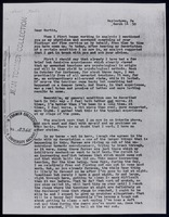 Letter : Jean Toomer to Martin