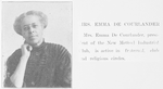 Mrs. Emma De Courlander