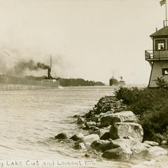 Soo, Michigan - Hay Lake Cut and Lookout