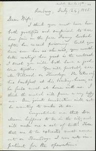 Letter from William Lloyd Garrison, Roxbury, [Mass.], to Helen Eliza Garrison, July 24 [i.e. July 17], 1865