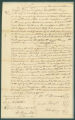 Emancipation bond for Millescent, who was freed by an act of the General Assembly of Alabama on December 2, 1824.