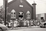 Photograph of Kayne Avenue Baptist Church, 1950