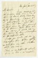 Letter by W. J. A. Fuller, New York, to Ziba Oakes
