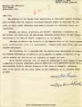Letter to Sen. McClellan from Baptist Association Opposing Integration