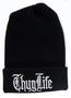 'Thug Life' hip-hop stocking cap