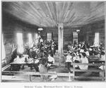 Sewing class; Hoffman-Saint Mary's School; Keeling, Tennessee