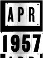 School Desegregation in the Southern and Border States, April 1957 Statistics