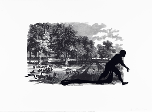 Banks's Army Leaving Simmsport, from the portfolio Harper's Pictorial History of the Civil War (Annotated)