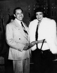 Cab Calloway and Hadda Hapgood Brooks