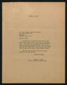 Documents regarding the daily administration and operation of Fort Macon State Park, 1948