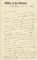 Letter from Horace Greeley in New York City, New York, to Henry C. Semple in Montgomery, Alabama.