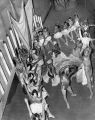 Dance spectacle at Philadelphia Cotillion event in 1954