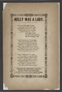 Nelly was a lady