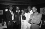 Paul Winfield, Marla Gibbs and others posing together, Los Angeles, 1987