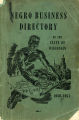Negro Business Directory of the State of Wisconsin, 1950-1951