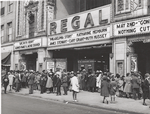 The movies are popular in the Negro section of Chicago, Illinois, April 1941