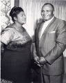 Mahalia Jackson with Jersey Joe Walcott