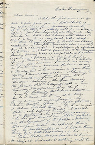 Letter from Caroline Weston, Boston, [Massachusetts], to Anne Warren Weston, [1840]