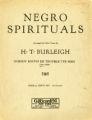 Nobody knows de trouble I've seen : Negro spiritual. [Low]