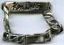 Ken Davis's identification bracelet